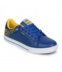 Vostro Royal Blue Casual Shoes for Men - VSS0164